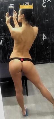 Анастасия Кумейко показала свою попку