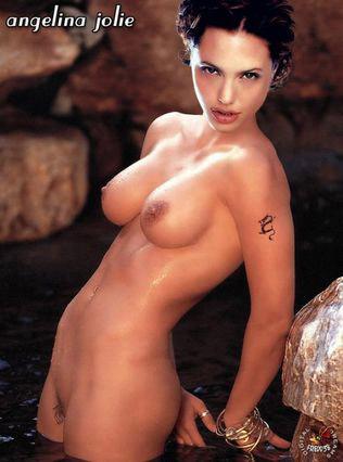 Анджелина Джоли эротично разделась