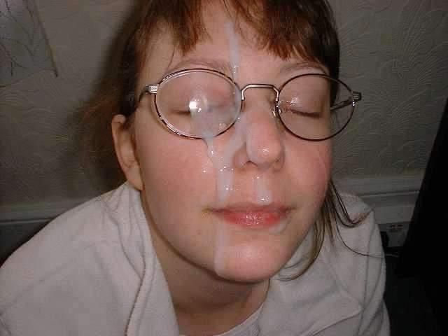 Сперма на очках
