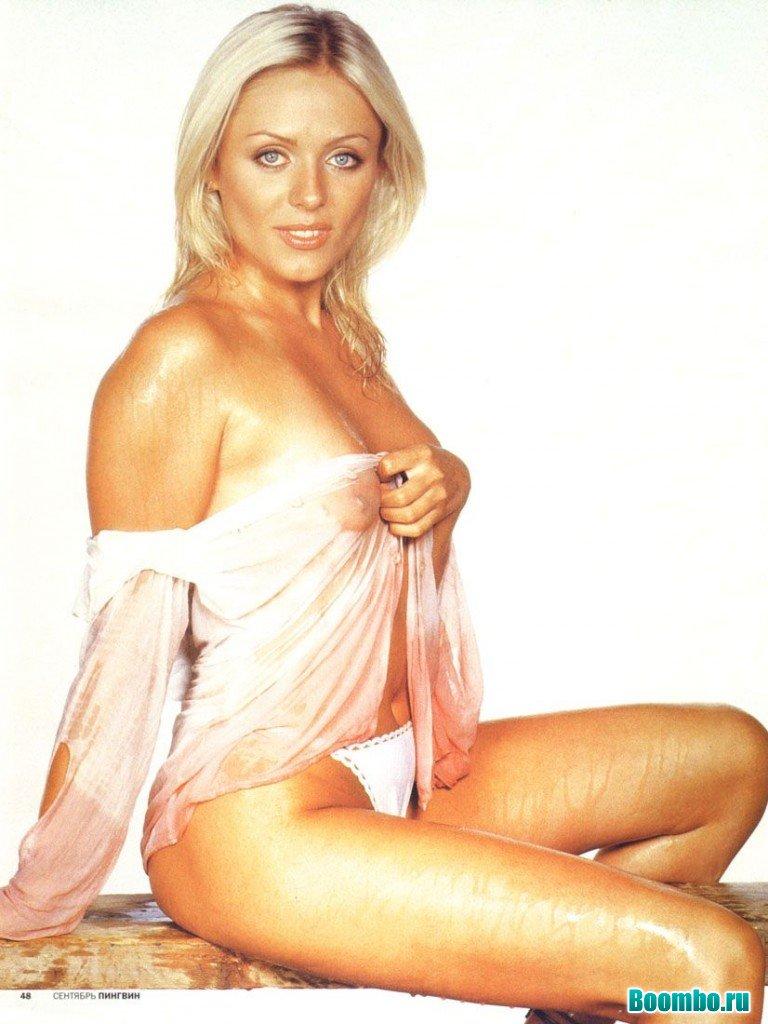 Юлия Началова показала грудь