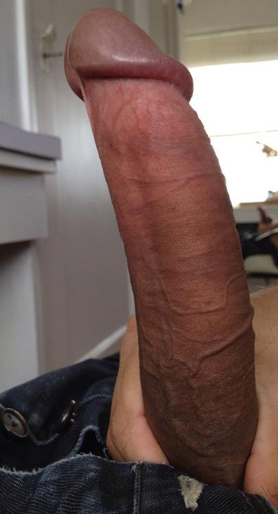 Огромный мужицкий хуец