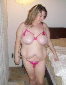 Сексуальная зрелая толстуха