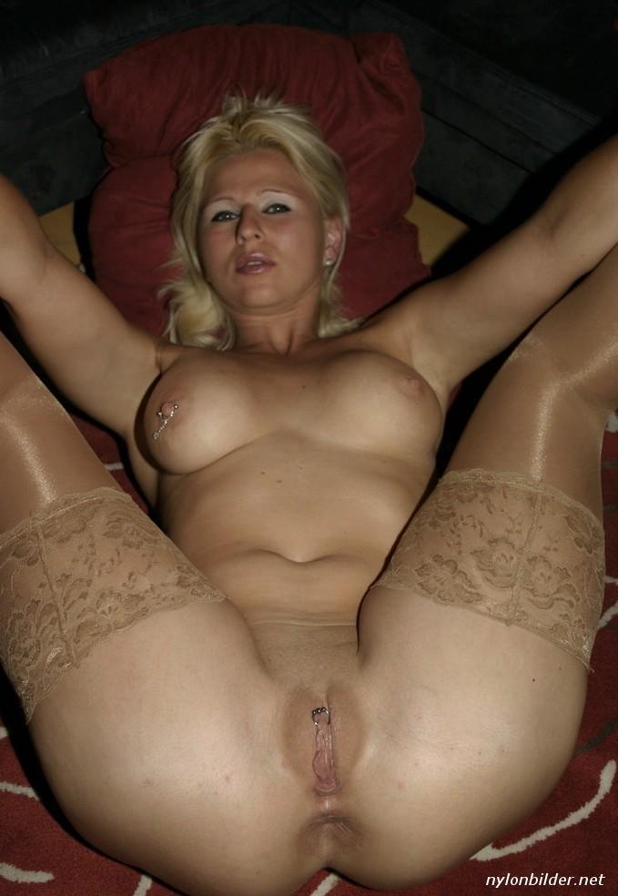 Секси блонда