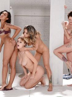 Посвящение в лесбиянки